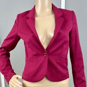 H&M maroon blazer